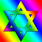 rainbow-star-of-david