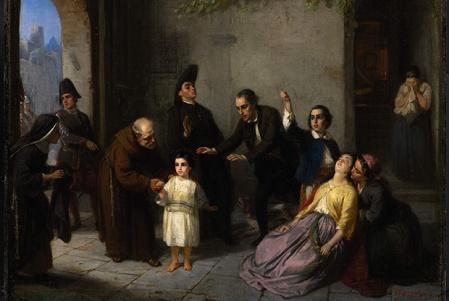 Edgardo Mortara Painting
